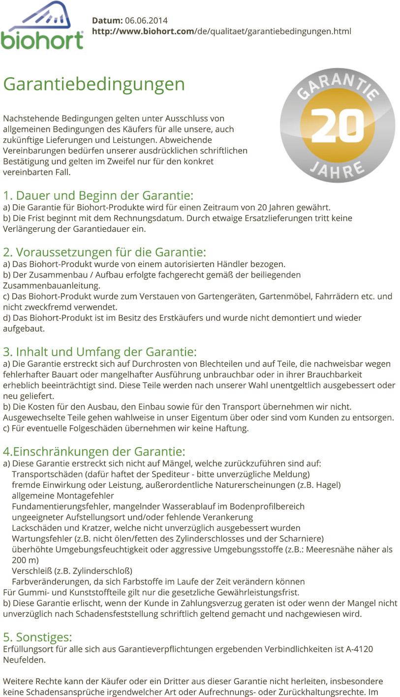 Biohort Kissentruhe und Aufbewahrungsbox 134x62 cm - Gartenmöbel ...