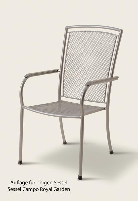 royal garden auflage sessel campo dessin 1701 gartenm bel jendrass. Black Bedroom Furniture Sets. Home Design Ideas