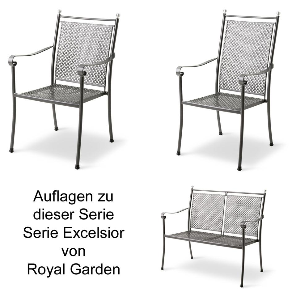 royal garden auflage serie excelsior des 3030 100 polyacryl versch gr en auflagen. Black Bedroom Furniture Sets. Home Design Ideas