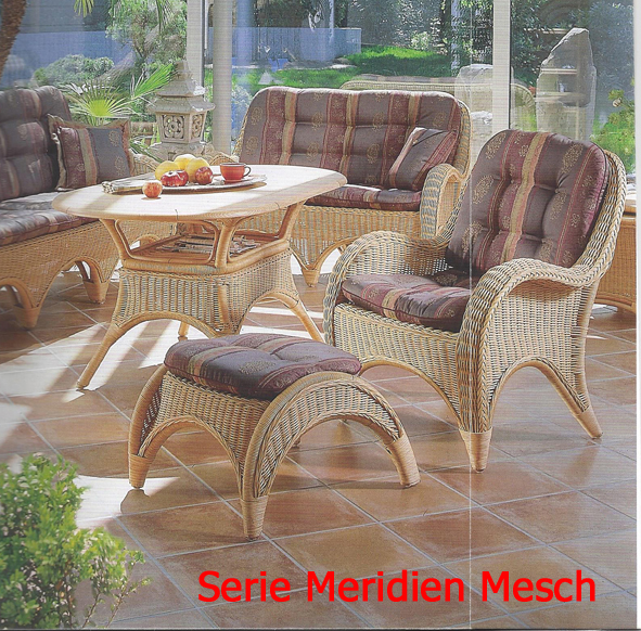 auflagen zur serie meridien mesch dessin 3031 gartenm bel jendrass. Black Bedroom Furniture Sets. Home Design Ideas