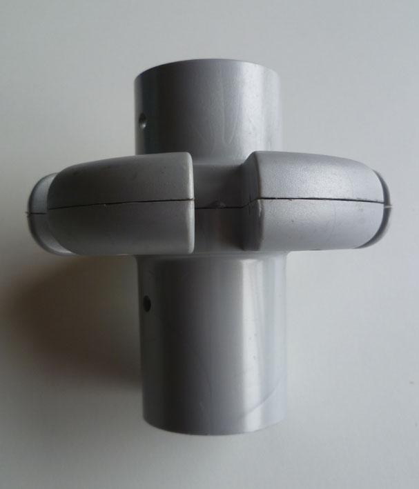 zackenkronenkranz oben f r art schirm kunststoff in silber ersatzteile und pflegemittel. Black Bedroom Furniture Sets. Home Design Ideas