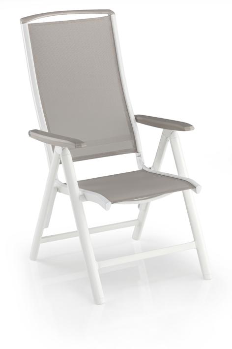 garten klappsessel vista von kettler aus aluminium und. Black Bedroom Furniture Sets. Home Design Ideas