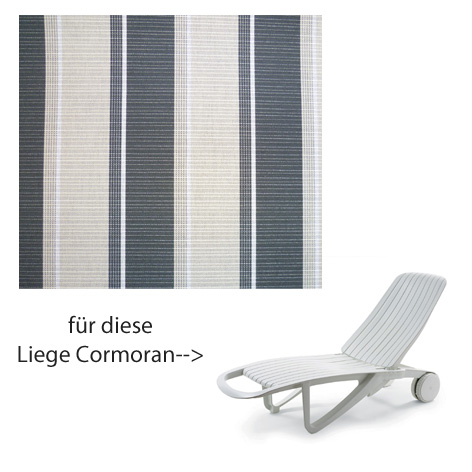 allibert evolutiv auflage liege cormoran dessin 160 gartenm bel jendrass. Black Bedroom Furniture Sets. Home Design Ideas