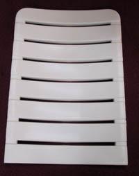 KURZ Rückenmatte für RELAX Favorit in weiss oder braun K2nqu0i