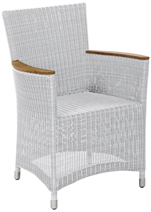 sessel loomus silkwhite von zebra kunststoffgeflechtsessel aus polyrattan in weiss. Black Bedroom Furniture Sets. Home Design Ideas