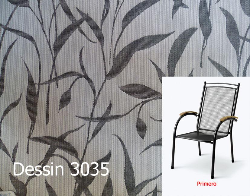 Auflage zu Sessel Primero von MWH Royal Garden im Dessin 3007 ...