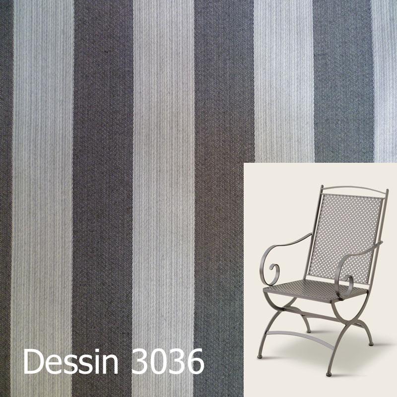 Auflage für Sessel Ambiente von Royal Garden im Dessin 3036 ...