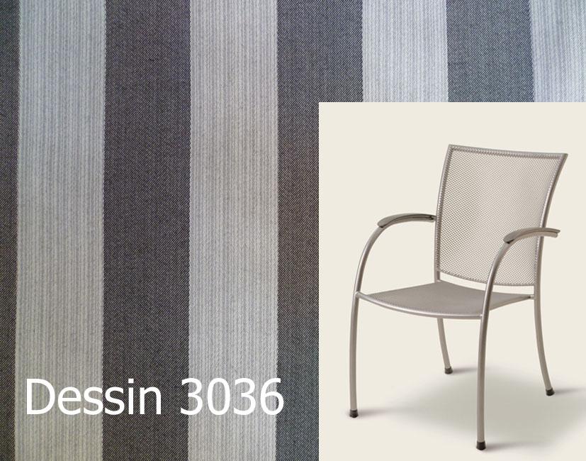 Auflage für Sessel Pilo von Royal Garden MWH im Des. 3036 100 ...