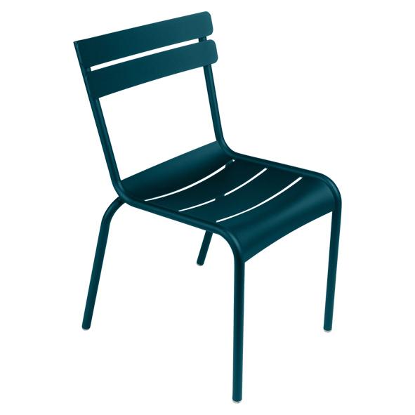 Luxembourg Stuhl oder Sessel wählbar, in acapulco, Aluminiumgestell