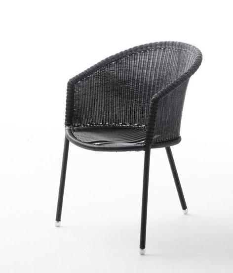 sessel trinity im farbton graphit von caneline f r den au enbereich gartenm bel jendrass. Black Bedroom Furniture Sets. Home Design Ideas