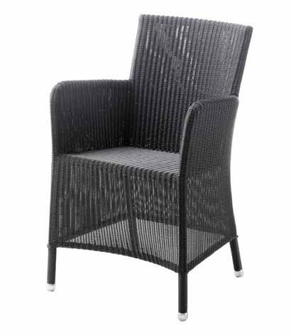 sessel hampsted in graphit stahlrohrgestell mit kunststoffgeflecht rattan und geflechtm bel. Black Bedroom Furniture Sets. Home Design Ideas