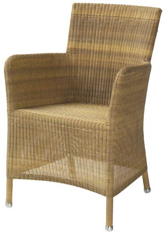 sessel hampsted in natur stahlrohrgestell mit kunststoffgeflecht rattan und geflechtm bel. Black Bedroom Furniture Sets. Home Design Ideas