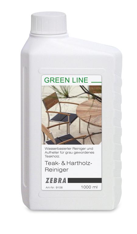 Zebra Teakreiniger und Hartholzreiniger - Gartenmöbel Jendrass
