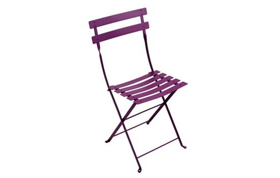 fermob klappstuhl metall im farbton aubergine gartenm bel jendrass. Black Bedroom Furniture Sets. Home Design Ideas