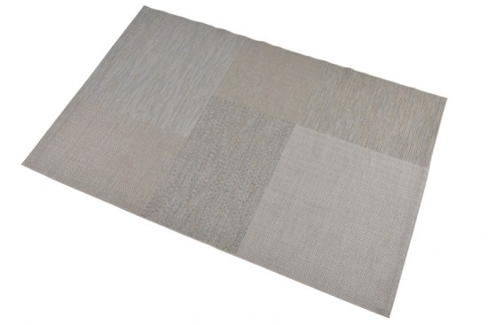 Polypropylen Teppich garden impressions outdoor teppich in grey blue gartenmöbel jendrass