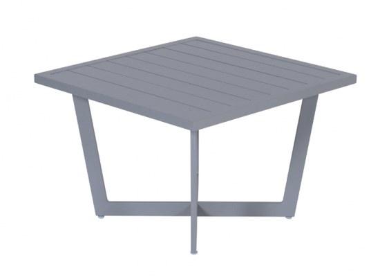 Gardenimpressions Beistelltisch Ivy 62,5x62,5x42 cm - Aluminium in arctic grey