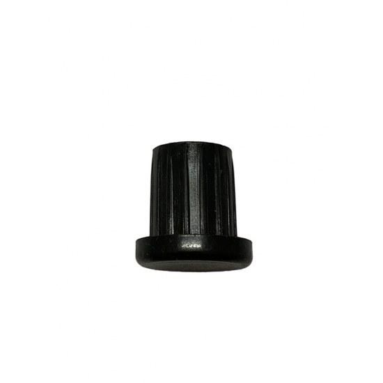 Royal Garden Fuss-Stopfen rund 28mm schwarz Laro Liege