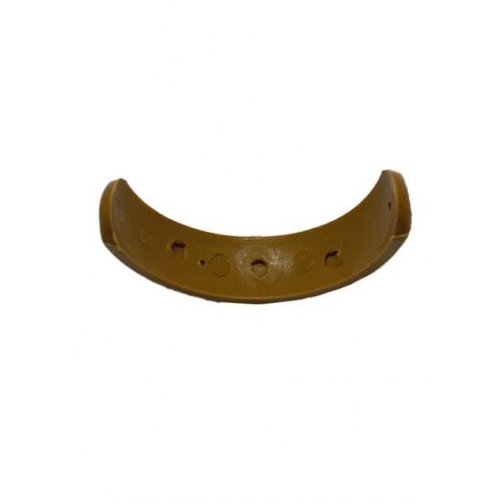 Kettler Herlag Gleitkufe für Holzstuhl in braun , Kunststoff