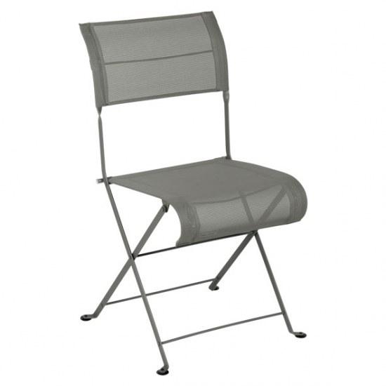 Fermob Stuhl oder Sessel Dune in STEREO rosmarin in der Auswahl wählbar Stahlgestell / Sitzbezug 100% Polyester