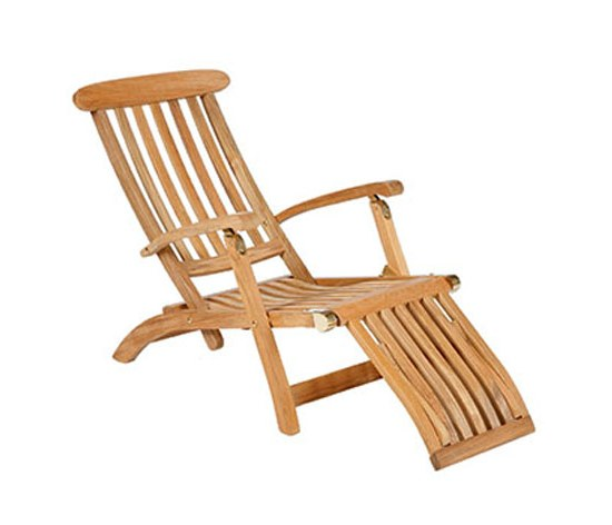 Barlow Deckchair Commodore 1CO aus Teakholz