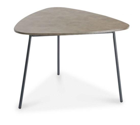 Best Beistelltisch Andros 80x77x55 cm Stahl mit Betonplatte