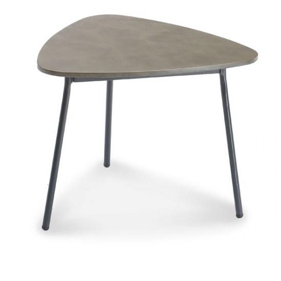 Best Beistelltisch Andros 60x57x45 cm Stahl mit Betonplatte