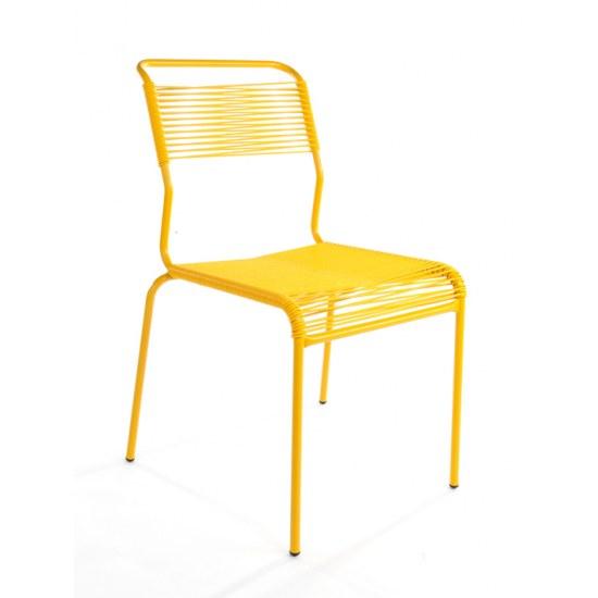 Schaffner Stapelstuhl Säntis gelb/gelb