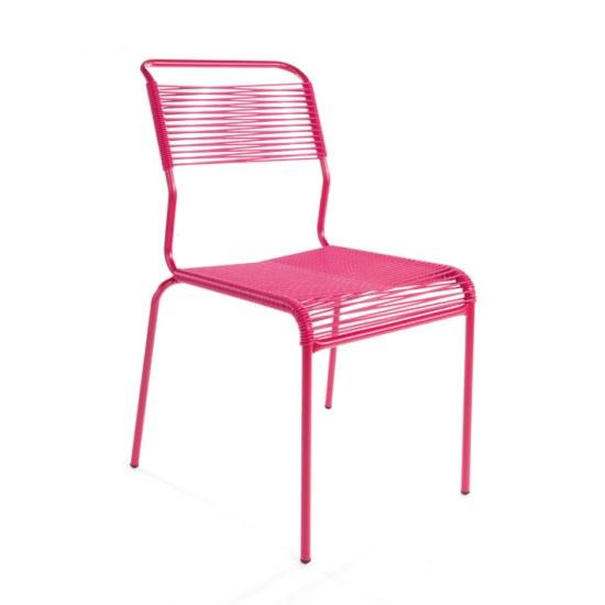 Schaffner Stapelstuhl Säntis pink/pink