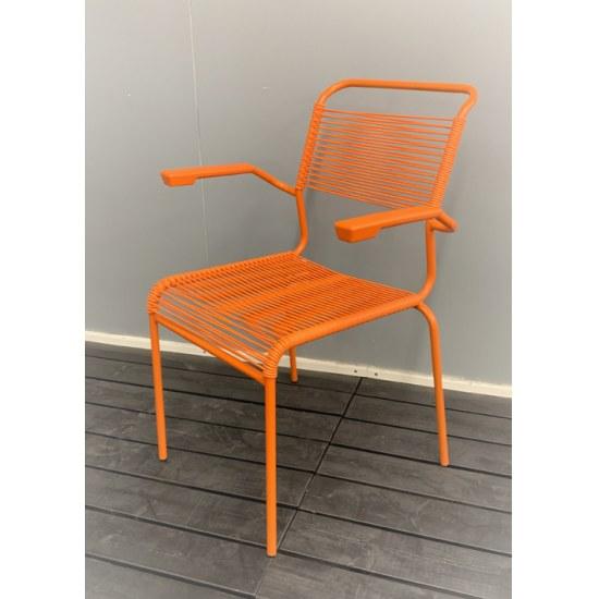 Schaffner Stapelsessel Säntis orange/orange