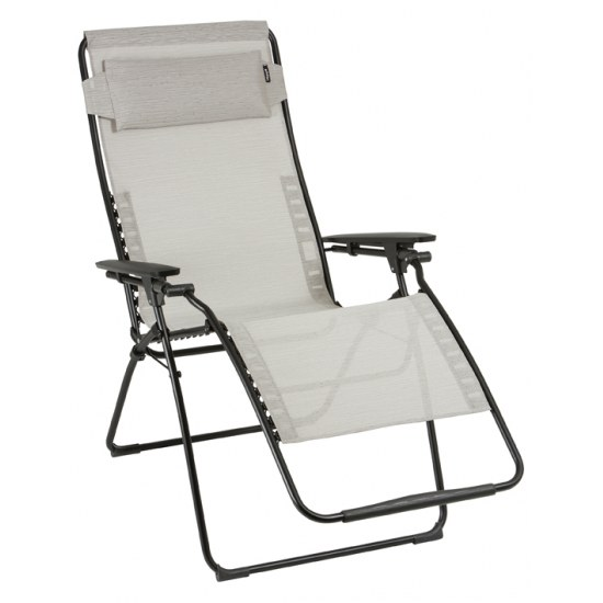 Relax Futura Clippe XL Farbe Galet, Stahl Lackiert Mit Bezug Aus 72% PVC,