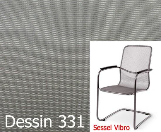 Melegant Auflage für Sessel Vibro Des.331 100% Polyacryl