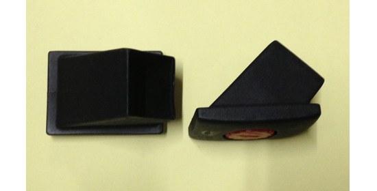 Royal Garden Tischkappe 30x30 mm mit versteller schwarz