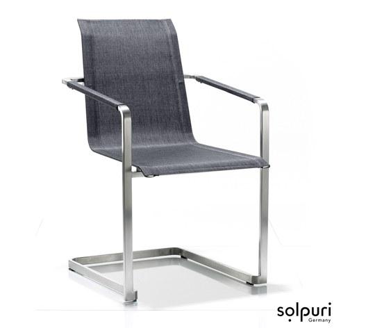 freischwinger jazz von solpuri gartenm bel jendrass. Black Bedroom Furniture Sets. Home Design Ideas