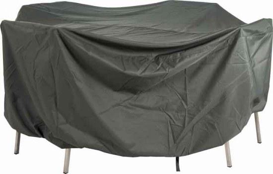 Stern Schutzhülle Sitzgruppe rund 215 cm 100% Polyester in grau