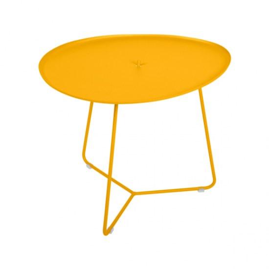 Fermob Niedriger Tisch Cocotte in Farbe honig- Stahl
