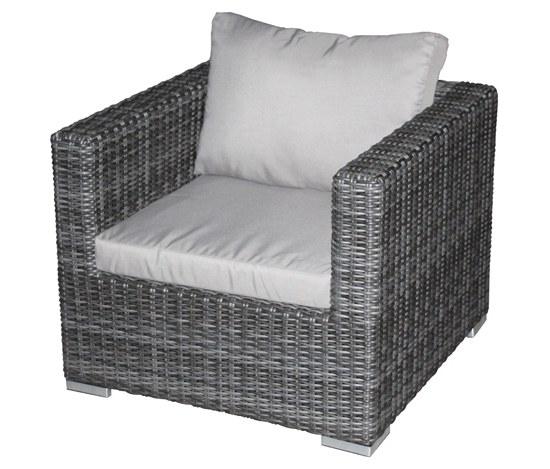 Jack Lounge Sessel von Zebra - inklusive Auflagen - Gartenmöbel ...