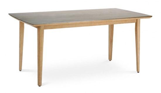 Best Tisch Lagos 170x90 cm Grandis-Hartholz mit Betonplatte