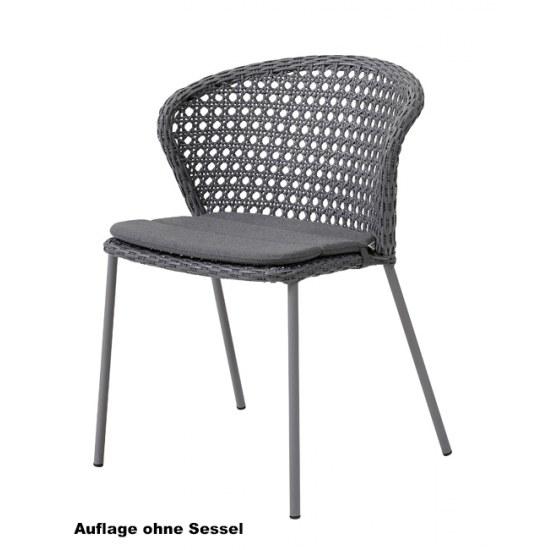 Cane Line Sitzauflage für Stapelstuhl Lean im Dessin Y95