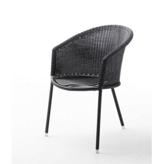 sessel trinity im farbton graphit von caneline f r den. Black Bedroom Furniture Sets. Home Design Ideas