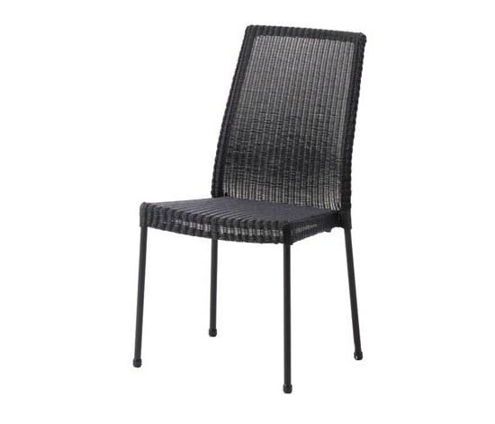 Stuhl newport ohne armlehne schwarz stahlrohrgestell for Stuhl mit armlehne schwarz
