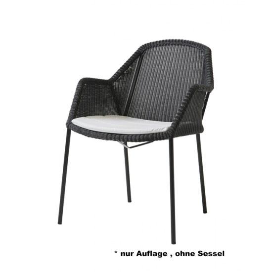 Cane Line Sitzauflage für Stapelstuhl Breeze in Dessin Y94