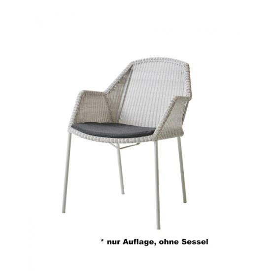 Cane Line Sitzauflage für Stapelstuhl Breeze in Dessin Y98