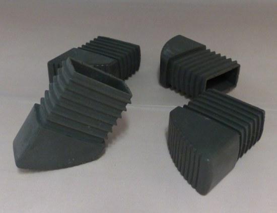 fusskappe für kettler basic klappsessel in anthrazit - gartenmöbel, Gartenmöbel