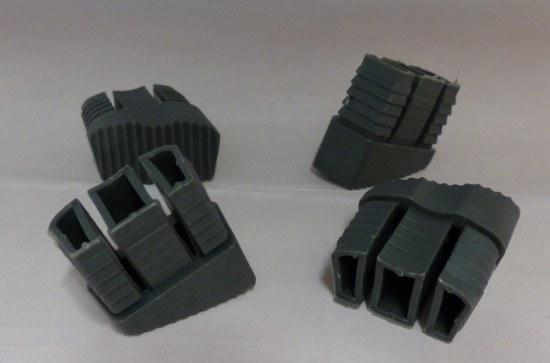 fusskappe für kettler basic plus klappsessel in anthrazit, Gartenmöbel