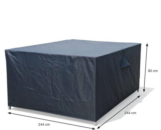 Garden Impressions Schutzhülle Loungemöbel 244x244x80 cm 100% Polyester