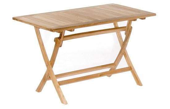 Müsing Tisch Perth 120x70 cm aus Teakholz