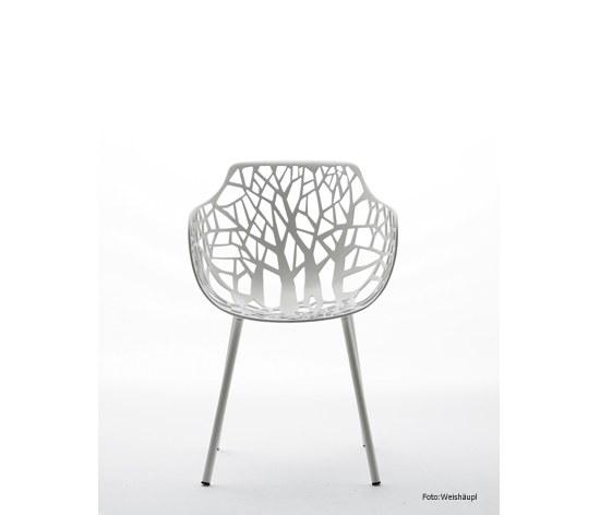 sessel forest aluminium pulverbeschichtet im farbton weiss. Black Bedroom Furniture Sets. Home Design Ideas