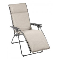Relax Evolution Farbe latte, Stahl mit Bezug 60% PVC / 40% PES