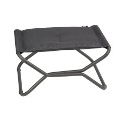 Hocker Next Be Comfort Farbe dark grey, Stahl/ Obermaterial 100% Polyester