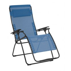 Relax Futura XL DUO Clippe Farbe outremer, Stahl / Bezug aus 72% PVC, 28% Polyester